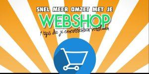 Meer Omzet Met Je Webshop