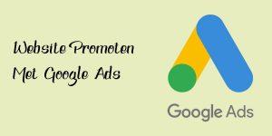 Website Promoten Google Ads