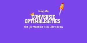 Conversie Optimalisaties