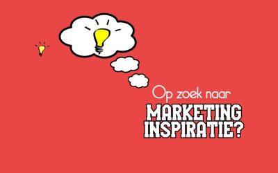 Op zoek naar marketing inspiratie?