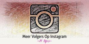 Meer Volgers Instagram