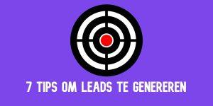 Leads genereren tips