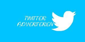 Twitter Adverteren