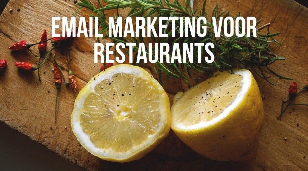 Email Marketing Voor Restaurants