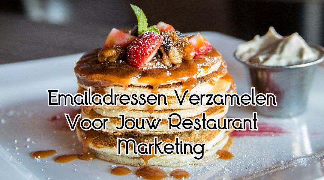 Emailadressen Verzamelen Voor Jouw Restaurant Marketing