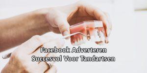 Succes op Facebook voor Tandarts
