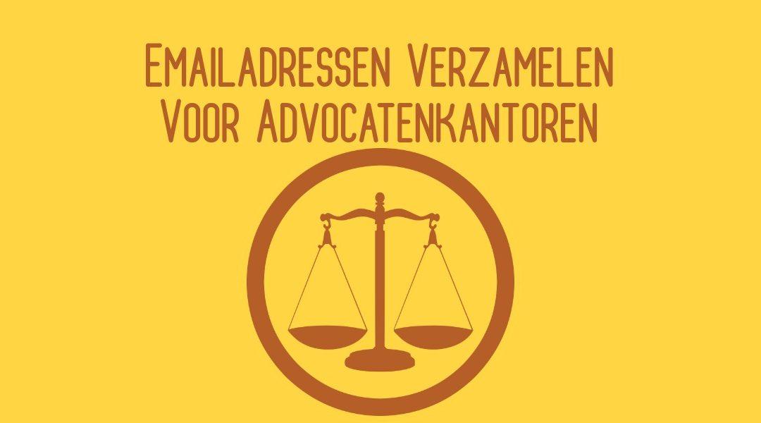 Emailadressen Verzamelen Voor Advocatenkantoren