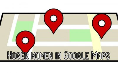 Hoger in Google Maps