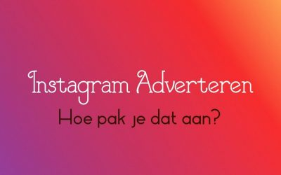Instagram Adverteren, how to